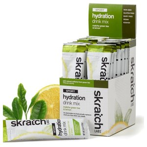 Skratch Labs Sports Hydration Mix Matcha & Lemons 20-Single Servings