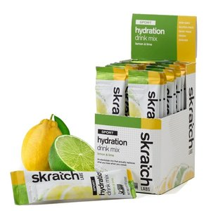 Skratch Labs Sports Hydration Mix Lemons & Limes 20-Single Servings