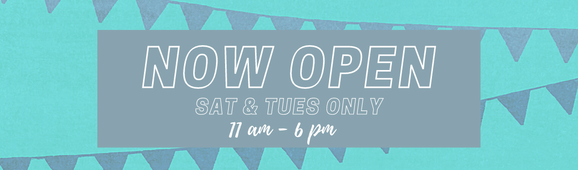 Re-opening Saturdays and Tuesdays