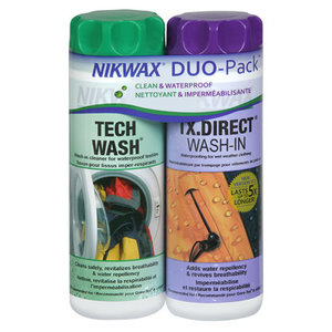 Nikwax Tech Wash/TX.Direct Wash DUO Pack