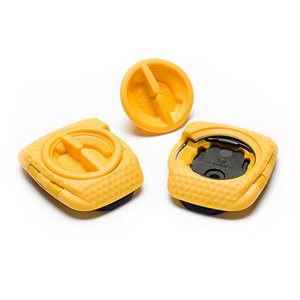 Speedplay Zero Aero Walkable Cleat Set, Yellow