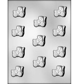 "CK Products 1-3/8"" Baby Buggy Chocolate Mold"