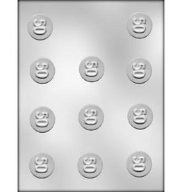 """CK Products """"50"""" Mint Chocolate Mold - 1-1/4"""""""