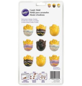 """Wilton Easter Variety Chocolate Mold (Wilton) """"Just Hatched"""""""