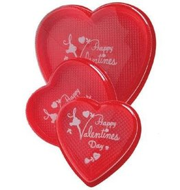 Red Heart Box with Printed Lid (4oz)