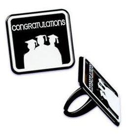 Congratulations Grad Rings (12/pkg)