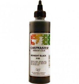 Chefmaster ChefMaster Airbrush Color- 9oz (Midnight Black)