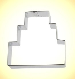 "Foose Three Layer Cake Cookie Cutter (3.5"")"