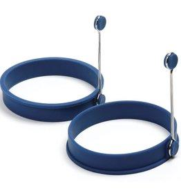 Norpro Silicone Round Pancake/Egg Rings, set of 2