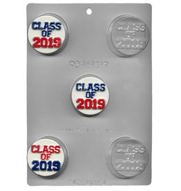 """CK Products """"Class of 2019"""" Sandwich Cookie Chocolate Mold"""