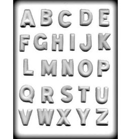 """CK Products 1 1/4"""" ALPHABET HARD CANDY MOLD"""
