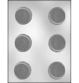 """CK Products 2-1/8"""" Candy Cup Chocolate Mold"""