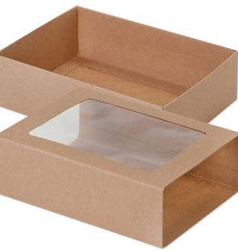 "Nashville Wraps Kraft Slide Open Candy Box Set, 6.5x4.75x2"""