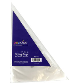 "Celebakes 14"" Tipless Decorating Bags (100ct)"