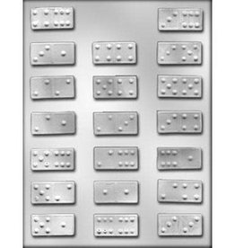 CK Products Domino Chocolate Mold -1-3/4""