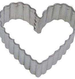 "R and M Fluted Heart (4"") Cookie Cutter"