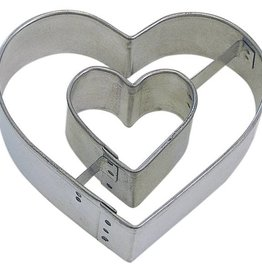 Heart in Heart Cookie Cutter