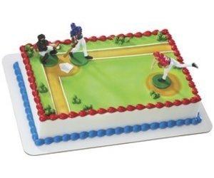 Decopac Batter Up Baseball Cake Topper Sweet Baking Supply