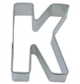 "R and M Letter ""K"" Cookie Cutter"