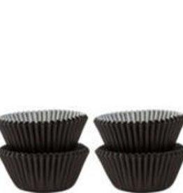Viking Black Baking Cups (Mini) 40-50ct