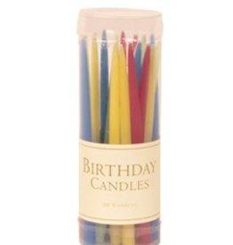Caspari Birthday Candles (Brights)