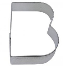 "R and M Letter ""B"" Cookie Cutter"