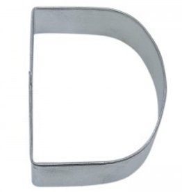 "R and M Letter ""D"" Cookie Cutter"
