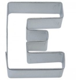 "R and M Letter ""E"" Cookie Cutter"