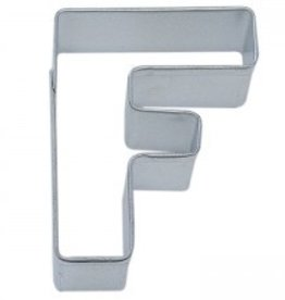 "R and M Letter ""F"" Cookie Cutter"