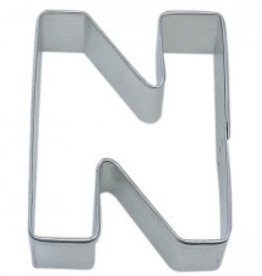 "R and M Letter ""N"" Cookie Cutter"