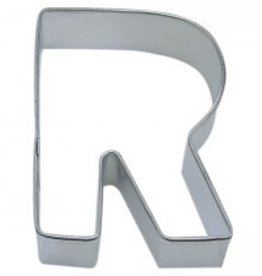 "R and M Letter ""R"" Cookie Cutter"