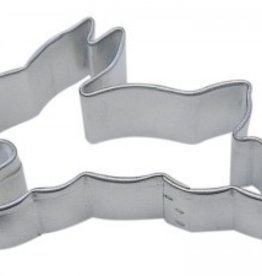 R and M Bunny (Jumping) Cookie Cutter