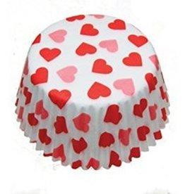 Auction Heart Baking Cups Mini (40-50ct)
