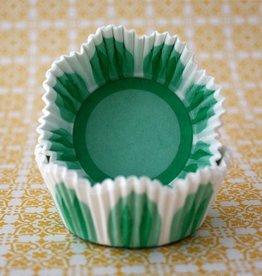 CK Green Flower Mini Baking Cups (40-50ct)