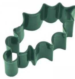 R and M Holly Cookie Cutter (coated steel)