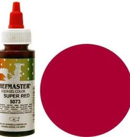 Super Red Chefmaster Liqua-gel 2.3 ounce