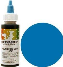 Neon Blue Chefmaster Liqua-gel 2.3 ounce