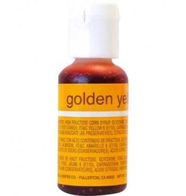 Golden Yellow Chefmaster Liqua-gel 3/4 ounce