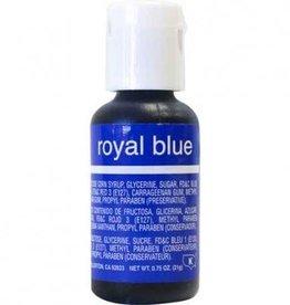 Royal Blue Chefmaster Liqua-gel 3/4 ounce