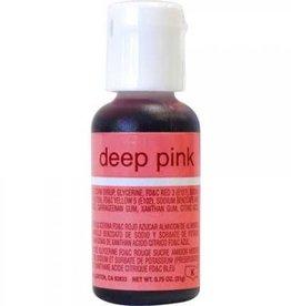 Deep Pink Chefmaster Liqua-gel 3/4 ounce
