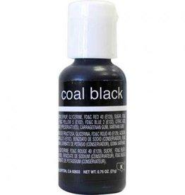 Coal Black Chefmaster Liqua-gel 3/4 ounce