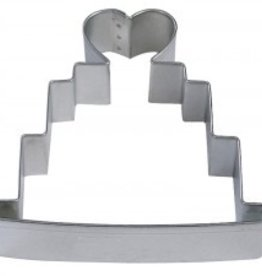 "R and M Wedding Cake Cookie Cutter (4"")"