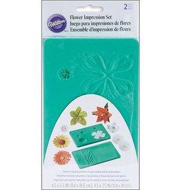 Wilton Flower Impression Mat Set