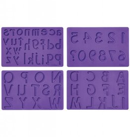 Wilton Fondant and Gum Paste Mold Set (Letters and Numbers)