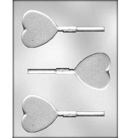 CK Products Heart (Plain) Chocolate Sucker Mold