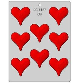 """CK Products Heart With Love Chocolate Mold (2-1/4"""")"""