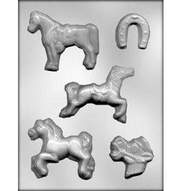 CK Products Horse Assortment Chocolate Candy Mold