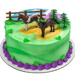 Decopac Horses Cake Topper