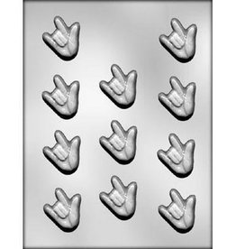 CK Products I Love You Sign Language Chocolate Mold