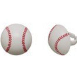 Decopac Baseball Rings (12 per pkg)